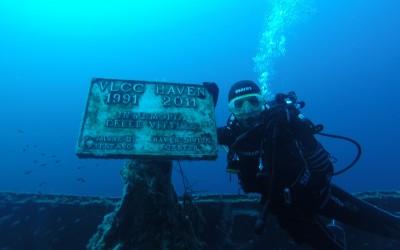 10 Settembre 2016 – Immersione Relitto Haven